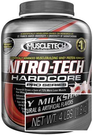 muscletech nitro tech hardcore review